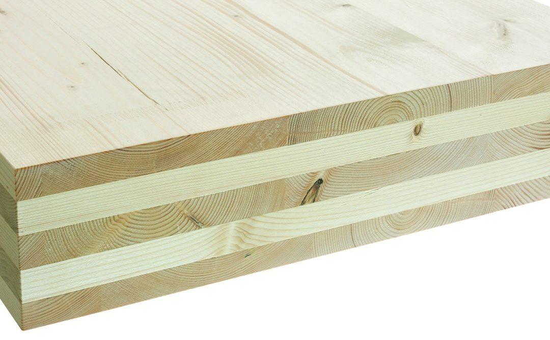 Qué es la madera se CLT para casas prefabricadas