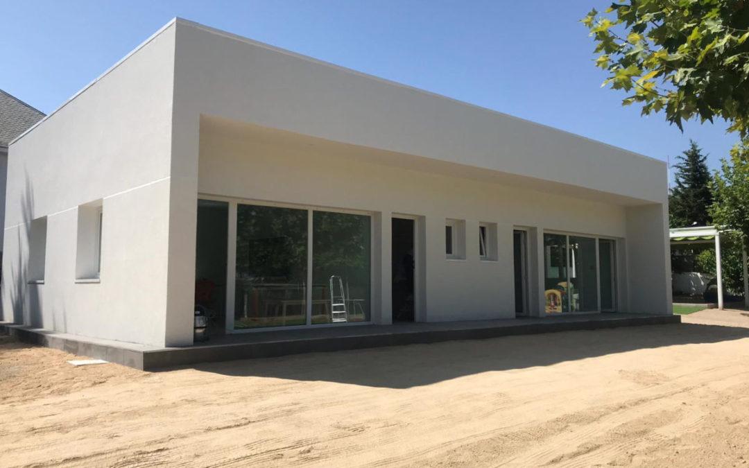 Construcción de Aulas Prefabricadas en Escuelas